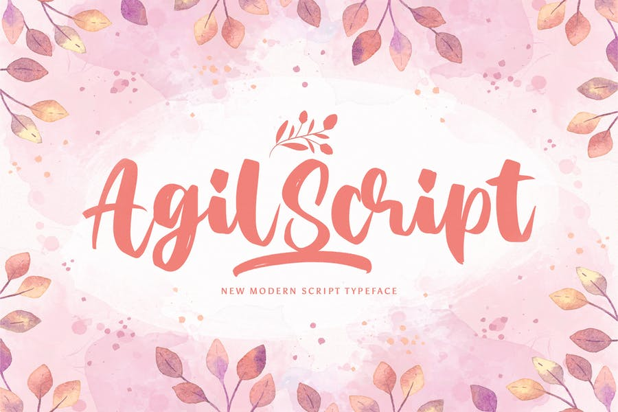 Agil Script - Handwritten Font