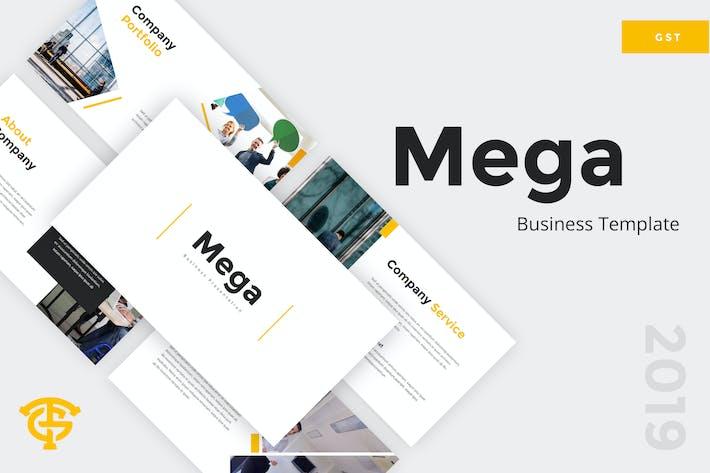 Thumbnail for Mega Business - Google Slides