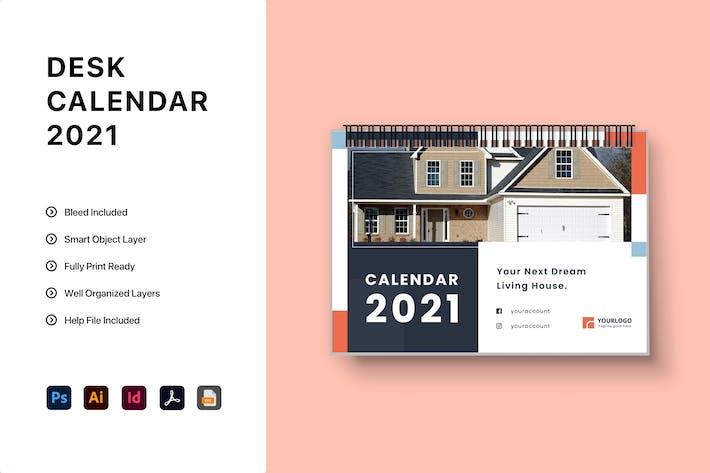 Thumbnail for Desk Calendar 2021