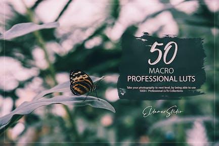50 Macro LUTs Pack