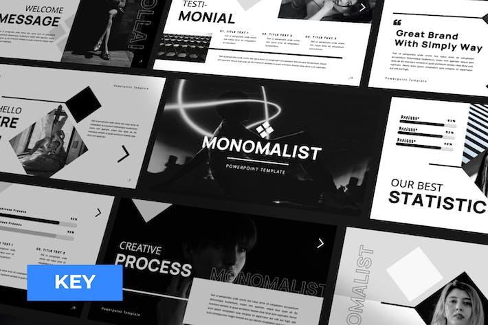 Thumbnail for Monomalist Business Keynote Presentation