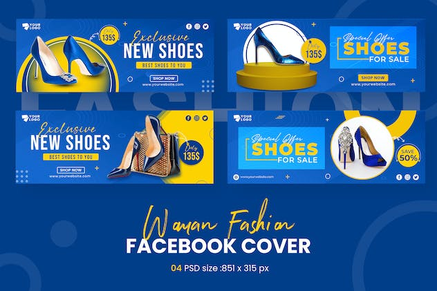 Woman Shoes Facebook Timeline Covers
