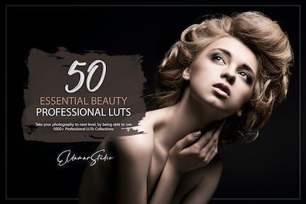 50 основных красоты LUT пакет