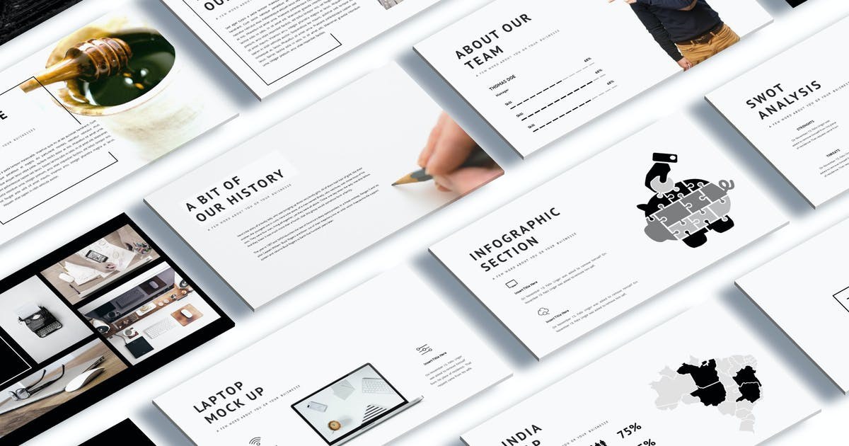 Shinning - Creative Keynote Template by Unknow