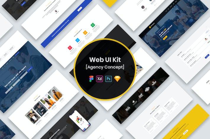 Thumbnail for Web UI Kit Agency
