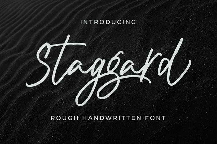 Thumbnail for Staggard Rough Signature - Signature
