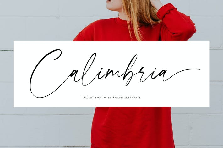 Thumbnail for Calimbria Font