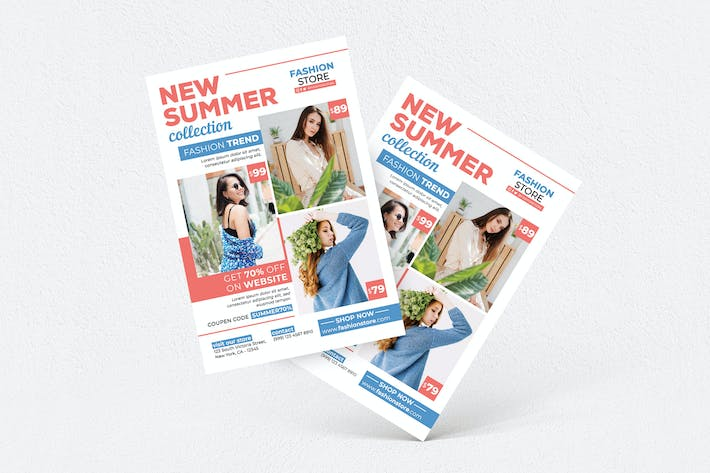 Thumbnail for New Summer Collection Flyer