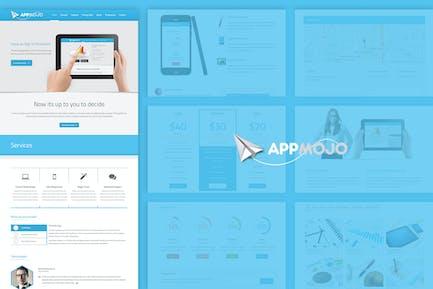 App Mojo - Single Page Software Promotion HTML