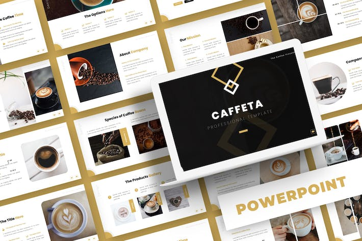 Thumbnail for Cafetta - Powerpoint Template
