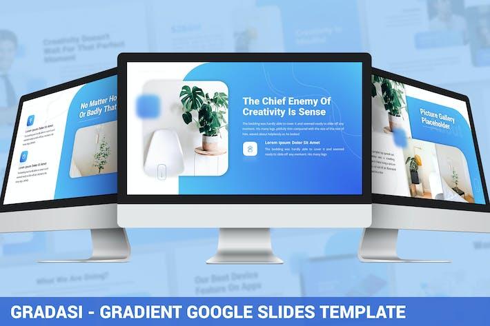 Thumbnail for Gradasi - Gradient Google Slides Template