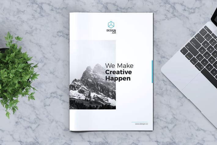 Thumbnail for Creative Brochure Template Vol. 02