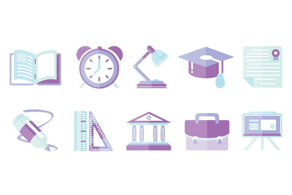 Download 10 Education Icons by LEVELII