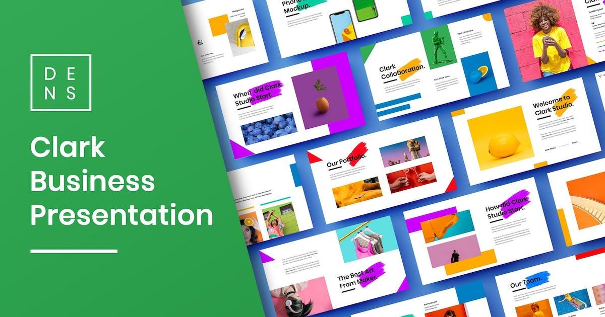 Download Clark – Creative Business PowerPoint Template by DensCreativeStudio