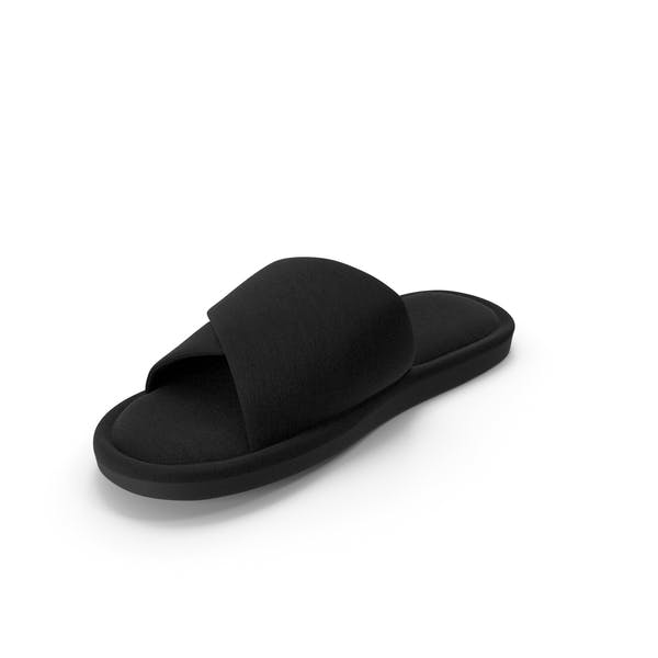 Men's Slipper Black