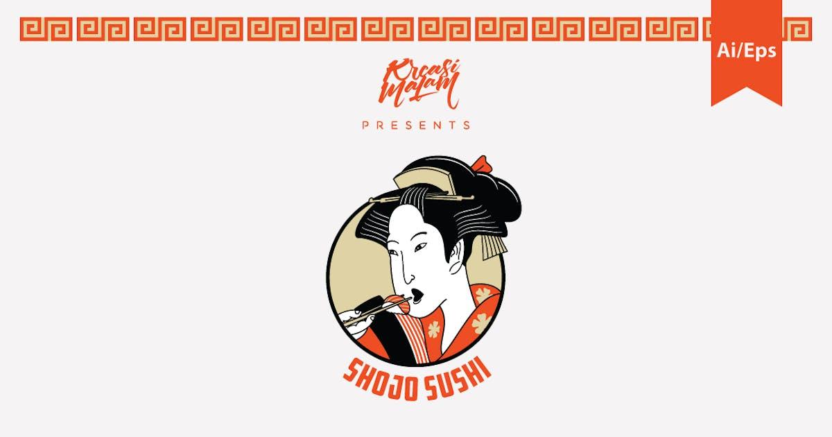 Download Shojo Sushi Logo Template by Ijajil