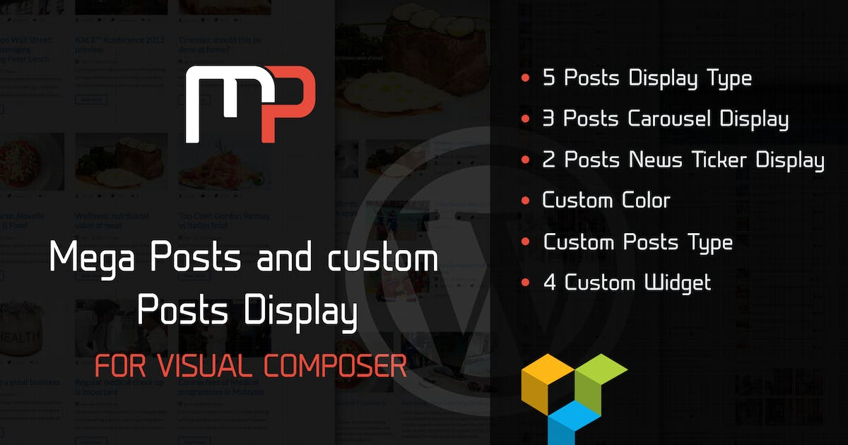 Download Mega Posts Display for Visual Composer by ad-theme