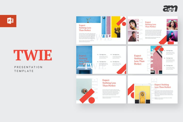 Thumbnail for Twie - Powerpoint Template
