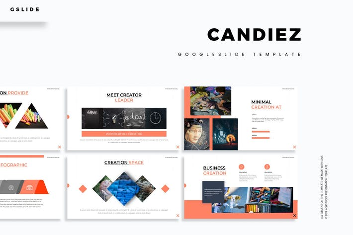 Thumbnail for Candiez - Google Slides Template