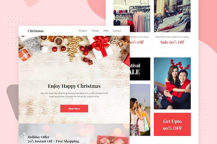 Thumbnail for Christmas - Email Newsletter