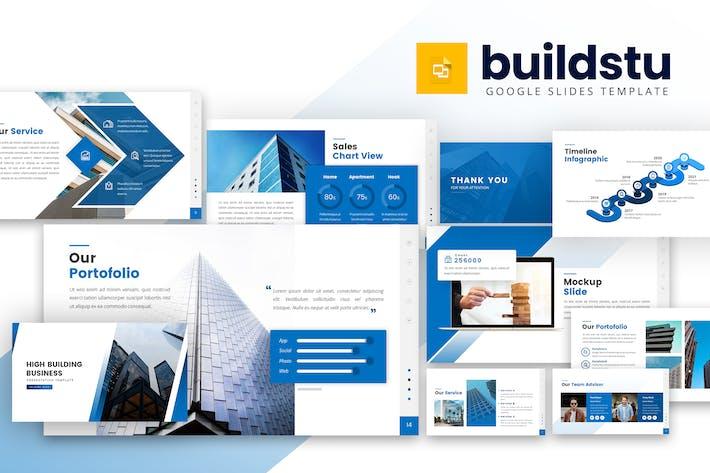 Thumbnail for Buildstu - Business Google Slides Template