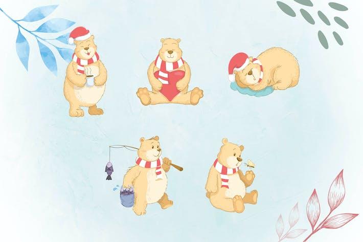 Whimsical Animal Illustrations BEAR