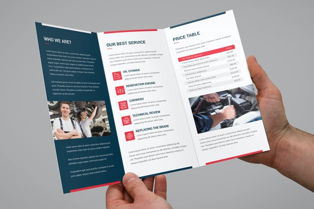 Brochure – Auto Repair Tri-Fold - product preview 7