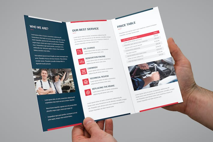 Thumbnail for Brochure – Auto Repair Tri-Fold