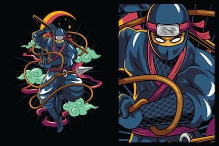 Ninja-Kämpfer