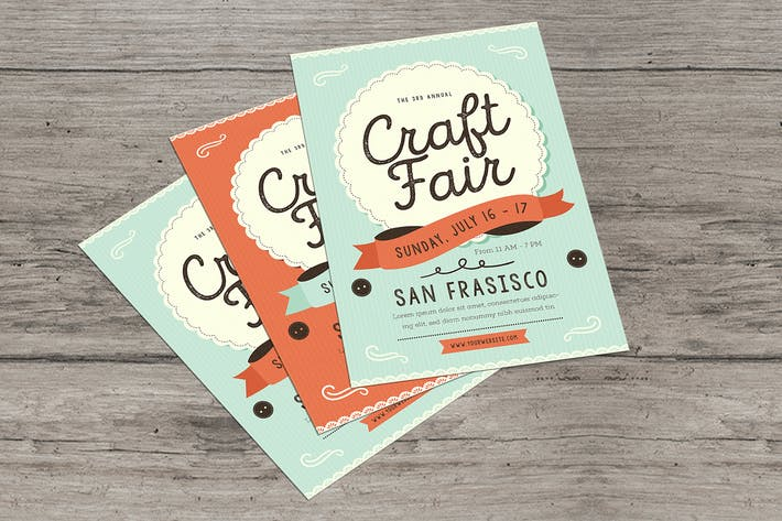Thumbnail for Craft Fair Event Flyer
