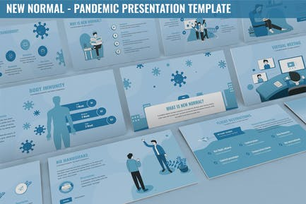 New Normal - Pandemic Presentation Template