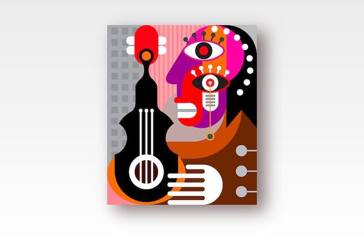 Thumbnail for Frau spielt Gitarre