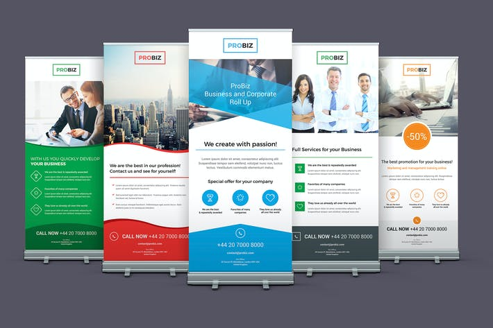 Thumbnail for ProBiz – Business and Corporate Roll Up Banners