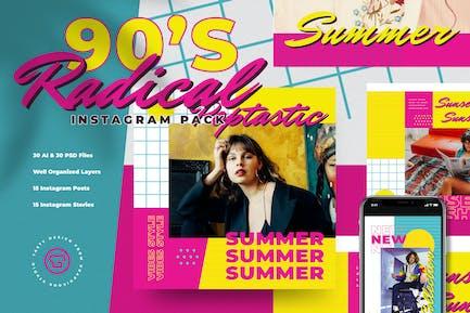 90's Summer Fashion Insta Pack
