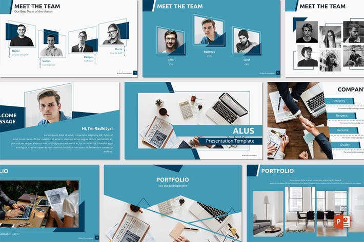Thumbnail for ALUS - Powerpoint Template
