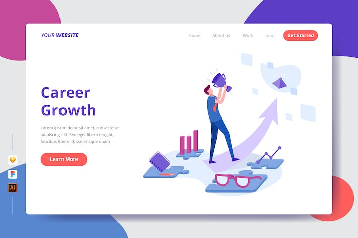 Thumbnail for Career Growth - Landing Page