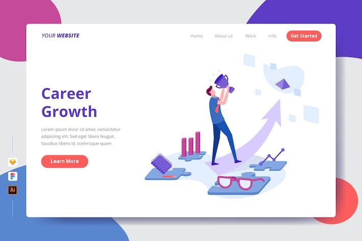 Thumbnail for Croissance de carrière - Page de destination