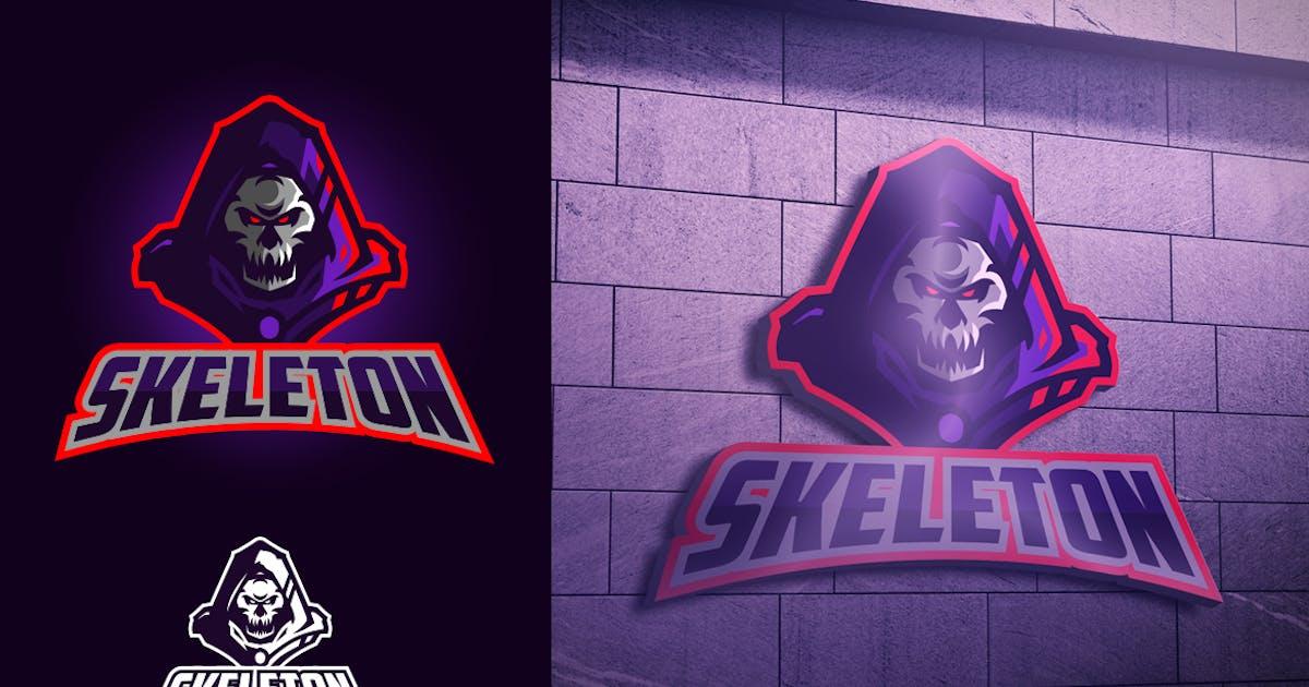 Download Skull Knight Mascot Esports Logo by Suhandi