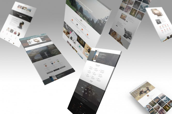 Thumbnail for Psd Web Showcase Mockup 05