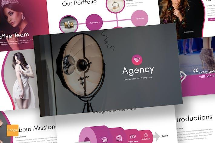 Thumbnail for Agency - Google Slides Template