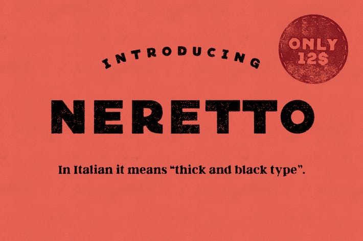 Cover Image For Neretto Sans