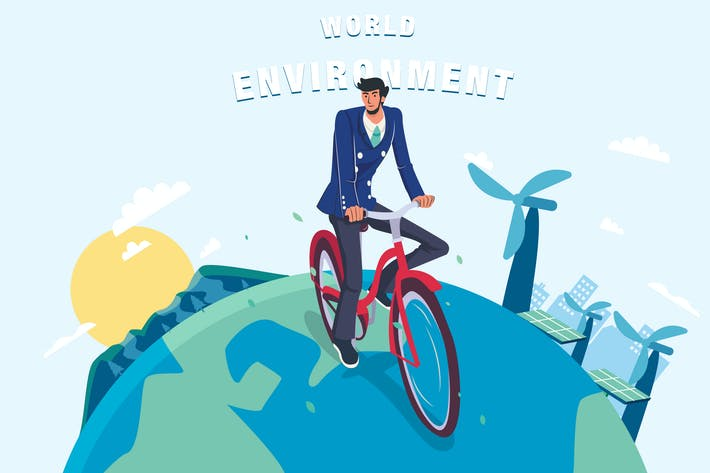 Thumbnail for World Environment Day  - Vector Illustration