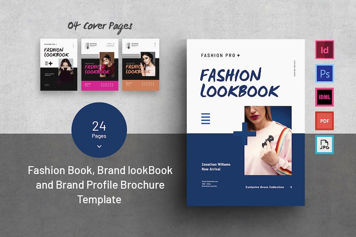 Thumbnail for Fashion And Brand Look book