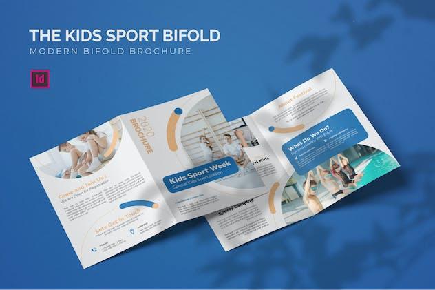 Kids Sport Fest - Bifold Brochure