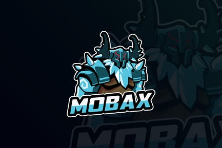Moba Gaming Mascot & eSports Gaming Logo