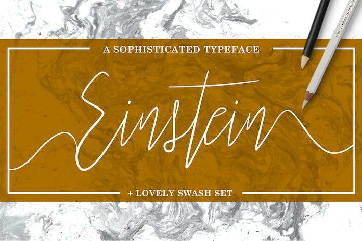 Thumbnail for Einstein Font