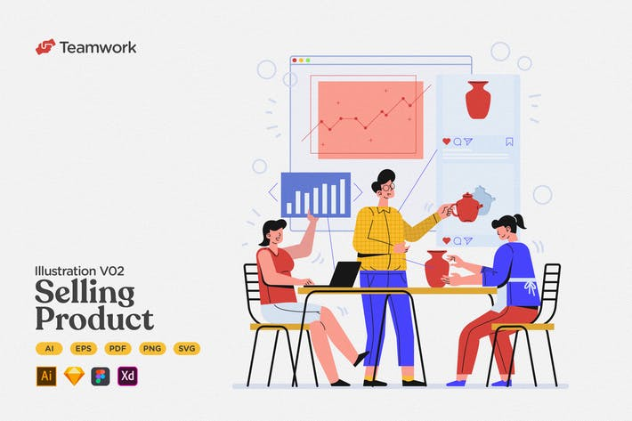 Thumbnail for Teamwork - Create & Selling Product on Marketplace