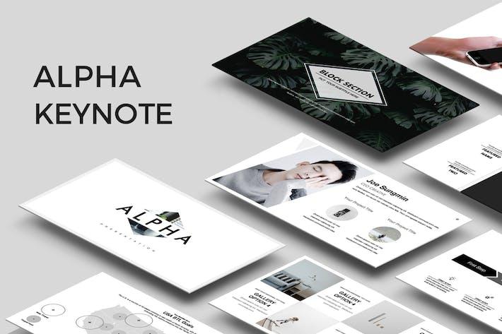 Thumbnail for Presentación Alpha Keynote