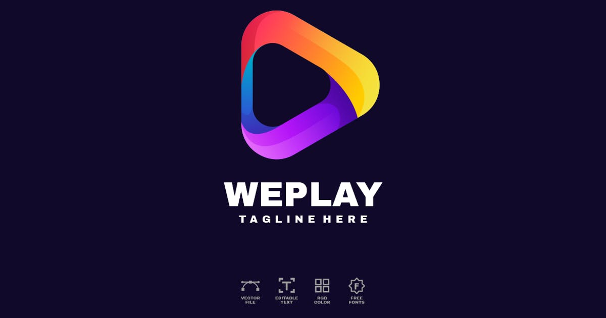 Download Play Logo Design by alonkelakon