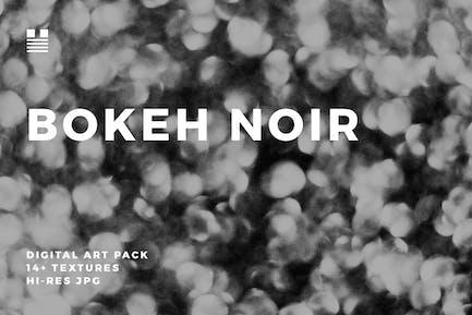 Bokeh Noir Negro